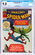 Silver Age (1956-1969):Superhero, The Amazing Spider-Man #7 (Marvel, 1963) CGC VF/NM 9.0 Off-white towhite pages....