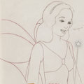 Animation Art:Production Drawing, Pinocchio Blue Fairy Animation Drawing (Walt Disney, 1940)....