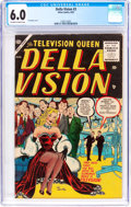 Golden Age (1938-1955):Romance, Della Vision #3 (Atlas, 1955) CGC FN 6.0 Off-white to whitepages....