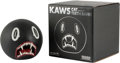 Collectible, KAWS (b. 1974). Cat Teeth Bank (Black), 2007. Painted cast vinyl. 5 x 5 inches (12.7 x 12.7 cm). Edition of 400. Stamped...