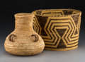 American Indian Art:Pottery, Two Southwest Coiled Jars. ... (Total: 2 Items)