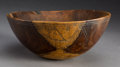 Sculpture, A Wasco (?) Etched Burl Bowl...