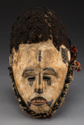 Tribal Art, An Igbo Helmet Mask  ...