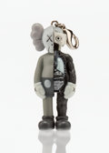 Fine Art - Sculpture, American:Contemporary (1950 to present), KAWS (American, b. 1974). Dissected Companion (Grey),keychian, 2010. Painted cast vinyl. 2 x 1-1/2 x 1 inches (5.1 x3....