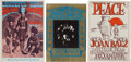 Music Memorabilia:Posters, Grateful Dead - Group Of Three Concert Posters (1967).... (Total: 3Items)