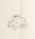 Animation Art:Production Drawing, Susie the Little Blue Coupe Animation Drawings Group of 18 (Walt Disney, 1952).... (Total: 18 Original Art)