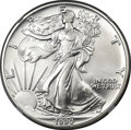 Modern Bullion Coins, 1990 $1 Silver Eagle MS70 NGC....