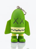 Fine Art - Sculpture, American:Contemporary (1950 to present), KAWS (American, b. 1974). Blitz (Green), keychain,2011. Painted cast vinyl. 1-1/2 x 1 x 1/2 inches (3.8 x 2.5 x1.3...