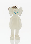 Fine Art - Sculpture, American:Contemporary (1950 to present), KAWS (American, b. 1974). Companion (Glow in the dark),keychain, 2009. Painted cast vinyl. 2 x 1-1/2 x 1 inches(5....