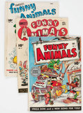 Golden Age (1938-1955):Funny Animal, Fawcett's Funny Animals Group of 4 (Fawcett Publications, 1943-46).... (Total: 4 Comic Books)