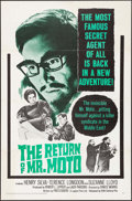 "Movie Posters:Mystery, The Return of Mr. Moto & Other Lot (20th Century Fox, 1965).One Sheet & International One Sheet (27"" X 41""). Mystery.. ...(Total: 2 Items)"