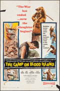 "Movie Posters:War, The Camp on Blood Island & Other Lot (Columbia, 1958). OneSheets (2) (27"" X 41""). War.. ... (Total: 2 Items)"