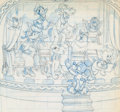 Animation Art:Concept Art, Mickey Mouse and Friends Band Concert Preliminary Art (Walt Disney,c. 1960s-70s)....