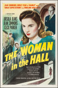 """Movie Posters:Drama, The Woman in the Hall (Eagle Lion, 1947). One Sheet (27"""" X 41""""). Drama.. ..."""