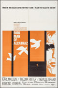 "Movie Posters:Drama, Birdman of Alcatraz (United Artists, 1962). Folded, Very Fine-. OneSheet (27"" X 41""). Drama.. ..."