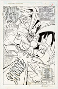 Original Comic Art:Splash Pages, Alex Saviuk and Rob Stull Spider-Man Adventures #11 SplashPage 3 Original Art (Marvel, 1995)....
