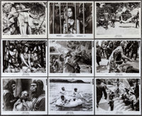 "Planet of the Apes (20th Century Fox, 1968). Photos (25) (Approximately 8"" X 10""). Science Fiction. ... (Total..."