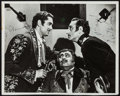 """Movie Posters:Swashbuckler, Tyrone Power and Basil Rathbone in The Mark of Zorro (20th Century Fox, 1940). Autographed Photo (8"""" X 10""""). Swashbuckler.. ..."""