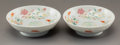 Asian:Chinese, A Pair of Chinese Porcelain Dishes, Qing Dynasty, Daoguang Period,circa 1821-1850. Marks: Six-character Daoguang mark and o...(Total: 2 Items)