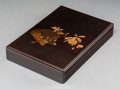 Asian:Japanese, A Japanese Lacquered Writing Box, Meiji Period, late 19th-early20th century. 1-1/2 h x 9-1/2 w x 6-1/2 d inches (3.8 x 24.1...
