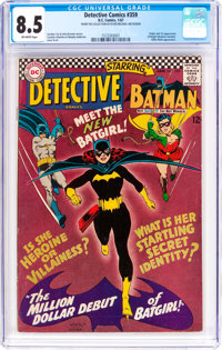 Detective Comics #359 (DC, 1967) CGC VF+ 8.5 Off-white pages
