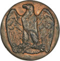 Patterns, (circa-1870s) Eagle Punch Die Trial Uncertified....