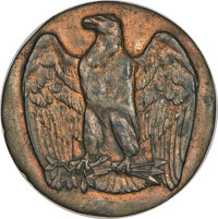 (circa-1870s) Eagle Punch Die Trial Uncertified....(PCGS# 62401)