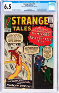 Silver Age (1956-1969):Superhero, Strange Tales #110 (Marvel, 1963) CGC FN+ 6.5 Off-white to white pages....