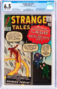 Strange Tales #110 (Marvel, 1963) CGC FN+ 6.5 Off-white to white pages