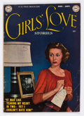 Golden Age (1938-1955):Romance, Girls' Love Stories #1 (DC, 1949) Condition: VG....