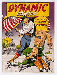 Dynamic Comics #1 (Chesler, 1941) Condition: VG-