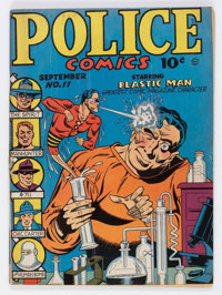 Police Comics #11 (Quality, 1942) Condition: VG/FN
