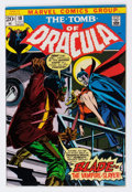 Bronze Age (1970-1979):Horror, Tomb of Dracula #10 (Marvel, 1973) Condition: VG....