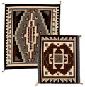 American Indian Art:Weavings, Two Contemporary Navajo Regional Rugs... (Total: 2 Items)