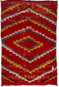 American Indian Art:Weavings, A Navajo Double-Faced Weaving...