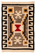 American Indian Art:Weavings, A Navajo Regional Rug . ...