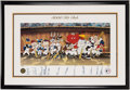Autographs:Others, Looney Tunes 3,000 Hit Club Multi-Signed Lithograph (12 Signatures).. ...