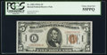 Small Size:World War II Emergency Notes, Fr. 2302 $5 1934A Hawaii Federal Reserve Note. PCGS Choice About New 55PPQ.. ...