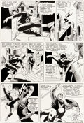 Original Comic Art:Panel Pages, Wally Wood and Bob Powell Daredevil #9 Story Page 16 Original Art (Marvel, 1965)....