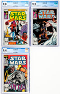 Modern Age (1980-Present):Science Fiction, Star Wars #73, 78, and 79 CGC-Graded Group (Marvel, 1983-84)....(Total: 3 Comic Books)