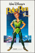 """Movie Posters:Animation, Peter Pan (Buena Vista, R-1982). One Sheet (27"""" X 41"""") & Uncut Pressbooks (2) (Multiple Pages, 10.5"""" X 13.25"""" & 11"""" X 15""""). ... (Total: 3 Items)"""