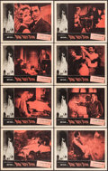 "Movie Posters:Horror, Burn, Witch, Burn! (American International, 1962). Very Fine-.Lobby Card Set of 8 (11"" X 14""). Reynold Brown Border Artwork...(Total: 8 Items)"
