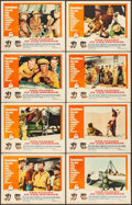 """Movie Posters:Adventure, The Flight of the Phoenix (20th Century Fox, 1966). Lobby Card Set of 8 (11"""" X 14""""). Adventure.. ... (Total: 8 Items)"""