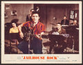 "Movie Posters:Elvis Presley, Jailhouse Rock (MGM, 1957). Lobby Card (11"" X 14""). Elvis Presley....."