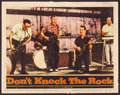 "Movie Posters:Rock and Roll, Don't Knock the Rock (Columbia, 1957). Lobby Card (11"" X 14""). Rockand Roll.. ..."