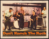"""Don't Knock the Rock (Columbia, 1957). Fine+. Lobby Card (11"""" X 14""""). Rock and Roll"""