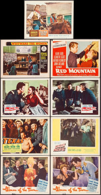 "The Woman of the Town & Others Lot (United Artists, 1943). Lobby Cards (9) (11"" X 14""). Western. ... (Tota..."