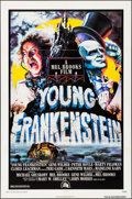 "Movie Posters:Comedy, Young Frankenstein (20th Century Fox, 1974). One Sheet (27"" X 41"")& Uncut Pressbook (16 Pages, 8.5"" X 14"") John Alvin Artwo...(Total: 2 Items)"