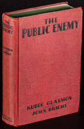 Movie Posters:Crime, The Public Enemy by Kubec Glasmon and John Bright (Grosset &Dunlap, 1931). First US Photoplay Edition Hardcover Book (284 P...