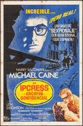 """Movie Posters:Thriller, The Ipcress File & Other Lot (Universal, 1965). Folded, Fine+. Spanish Language One Sheet (27"""" X 41"""") & Mexican Lobby Cards ... (Total: 5 Items)"""